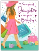 GREETING CARDS,Daughter 6's Shopping Trip