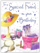 GREETING CARDS,Special Friend 6's Fashion