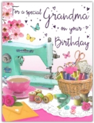 GREETING CARDS,Grandma 6's Sewing