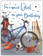 GREETING CARDS,Dad 6's Sports