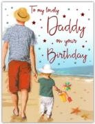 GREETING CARDS,Daddy 6's Seaside