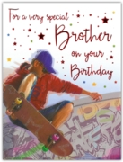 GREETING CARDS,Brother 6's Skateboarding