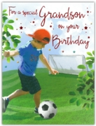 GREETING CARDS,Grandson 6's Football