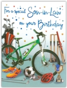 GREETING CARDS,Son in Law 6's Sports
