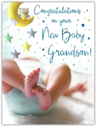 GREETING CARDS,Birth of Grandson 6's Baby