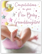 GREETING CARDS,Birth of Granddaughter 6's Baby
