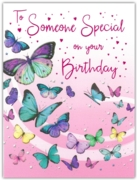 GREETING CARDS,Someone Special 6's Butterflies