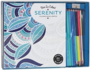 ADULT COLOURING,Serenity and Pencils