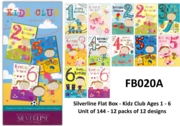 SILVERLINE FLAT BOX, Kidz Club 144's