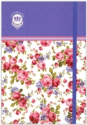 NOTEBOOK,A5 Sweet Posy, Gifted (Was 4.99)