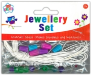 JEWELLERY SET,Assorted Beads H/pk
