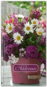 ADDRESS BOOK,Lilac Daisy Slim