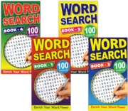 ACTIVITY BOOK,Word Search 4 Asst.