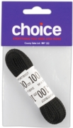 LACES,Boot Black (1 Pair) 100cm I/cd