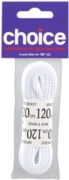 LACES,Sports White (1 Pair) 120cm I/cd