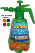 WATER BOMB Filler Container with Pump,Inc. 100 Balloons