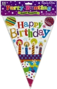 BUNTING,Happy Birthday Unisex
