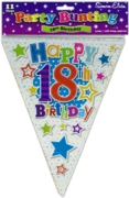 BUNTING,18th Birthday Unisex