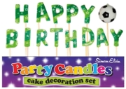 CAKE CANDLES,Football Laser Print