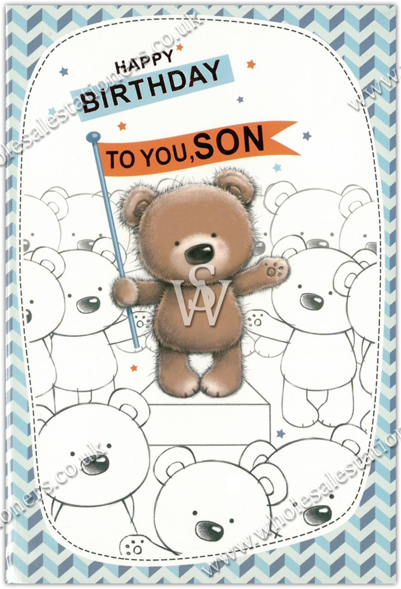 Greeting Cardsson 12s Teddy Bears Wholesale Stationers