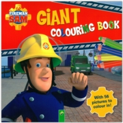 COLOURING BOOK,Giant Fireman Sam