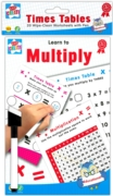 EDUCATIONAL BOOK,Wipe Clean, A5,Learn To Multiply H/pk