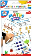 EDUCATIONAL BOOK,Wipe Clean, A5,Learn Maths H/pk