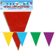 BUNTING,Multi Coloured 10m