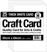 CARD,Craft Thick White 45x64cm