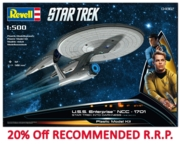 REVELL Model,Star Trek,U.S.S. Enterprise NCC-1701 1:500 -20%