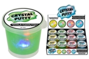 CRYSTAL PUTTY,Flashing Glitter,80g,Asst Col,CDU