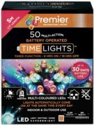 LIGHTS,LED Multi Action Multi Colour Battery Operated 50's