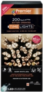LIGHTS,LED Multi Action Warm White Battery Operated 200's