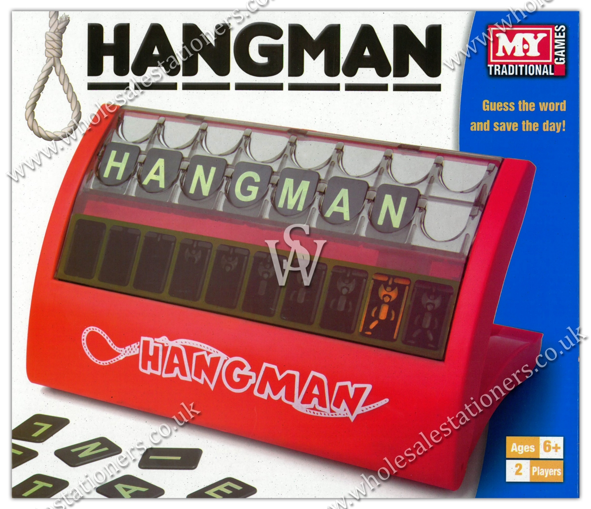 GAME,HANGMAN, 2 Players,Age 6+,MY Bxd