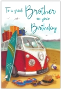 GREETING CARDS,Brother 6's Campervan