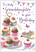 GREETING CARDS,Granddaughter 6's Cupcakes