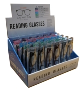 READING GLASSES,Asst.Col & Magnification +1.00 +3.00 CDU