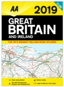 AA ROAD ATLAS,Great Britain A3 2019 Flashed £1.99