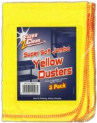 DUSTERS,Yellow,3's Hangpack
