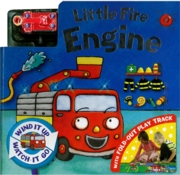 BOARD BOOK,Little Fire Engine with fold-out play track
