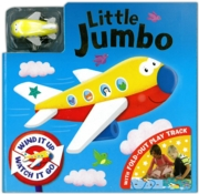 BOARD BOOK,Little Jumbo with fold-out play track