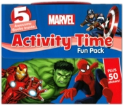 ACTIVITY PACK,Marvel 5 Books + 50 Stickers Boxed
