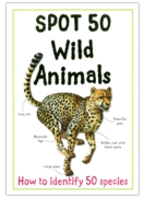 EDUCATIONAL BOOK,Spot 50 Wild Animals