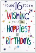GREETING CARDS,Age 16 Male 12's Pastimes/Stars