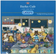 JIGSAW,1000pc.Barks Cafe (£15.99)