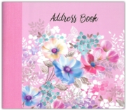 ADDRESS BOOK,Filigree Leaves