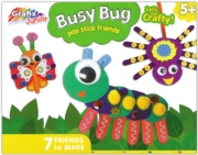 CRAFT KIT,Busy Bugs Pop Stick Friends Boxed (5+)