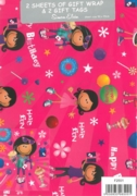 GIFT WRAP PACKETS, Juvenile Girl