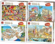 JIGSAW,1000pc.Comic Assortment 4 Assorted