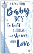 GREETING CARDS,Baby Boy 6's Text